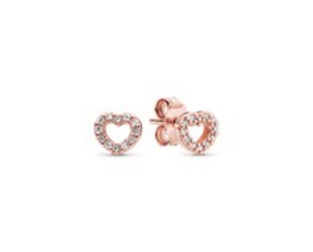 Open Heart Stud Earrings deals at $60