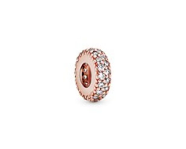 Clear Sparkle Spacer Charm deals at $45