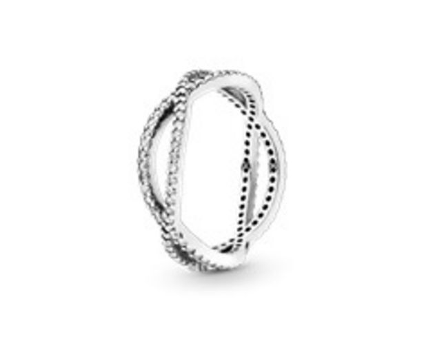 Crossing Bands Ring - FINAL SALE deals at $80