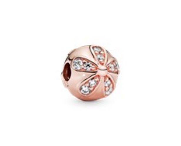 Sparkling Daisy Flower Clip Charm - FINAL SALE deals at $70