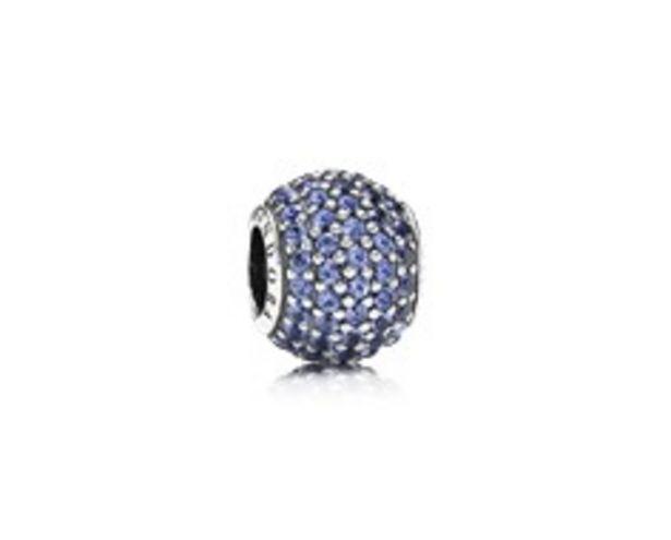 Pavé Lights Charm, Blue Crystal - FINAL SALE offer at $70