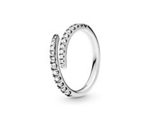 Lines of Sparkle Ring - FINAL SALE offer at $70