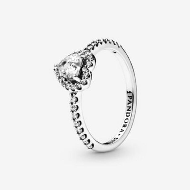 Elevated Heart Ring offer at $75