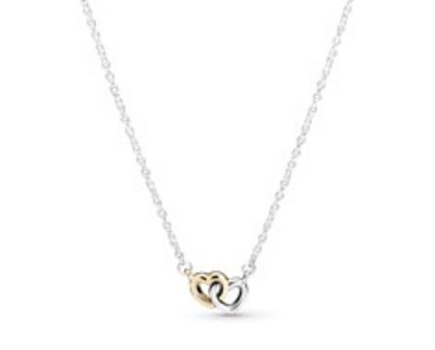 Interlocked Hearts Collier Necklace offer at $75