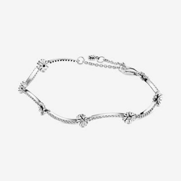 Sparkling Daisy Flower Bracelet offer at $90