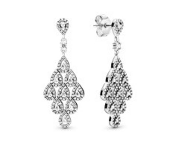 Sparkling Teardrop Chandelier Earrings - FINAL SALE deals at $150