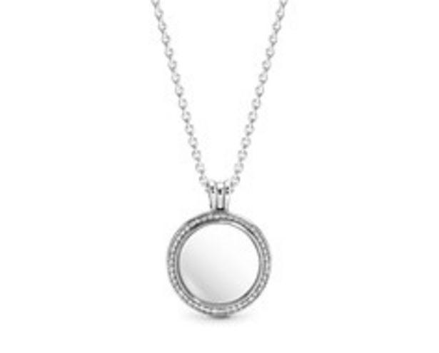 Pandora Lockets Sparkling Necklace deals at $140