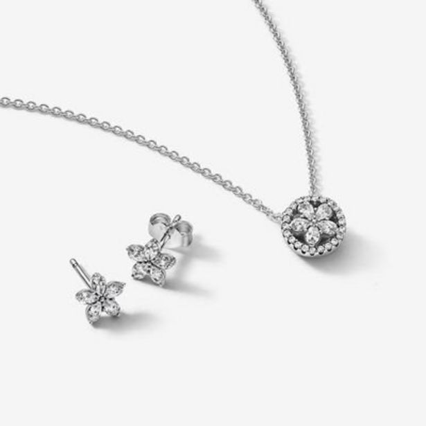 Sparkling Snowflake Jewelry Gift Set offer at $99