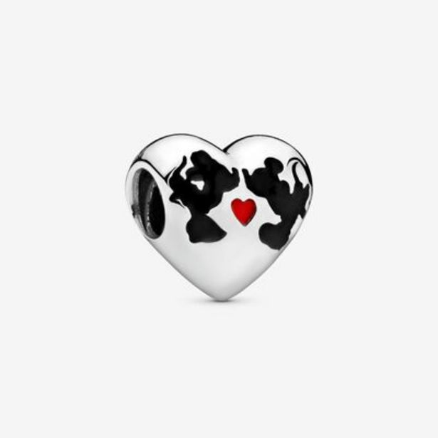 Disney Minnie Mouse & Mickey Mouse Kiss Charm offer at $55
