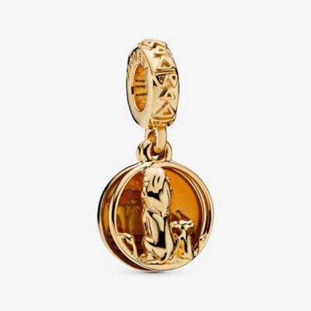 Disney, Simba & Mufasa Sunset Dangle Charm offer at $48.75
