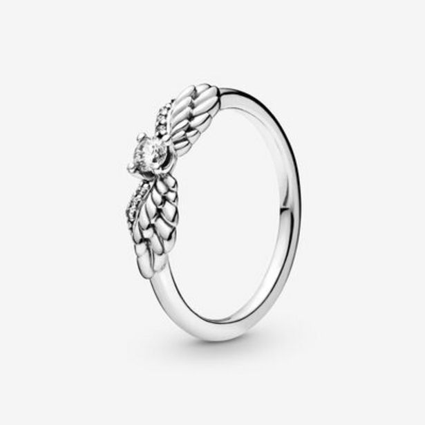 Sparkling Angel Wings Ring offer at $55