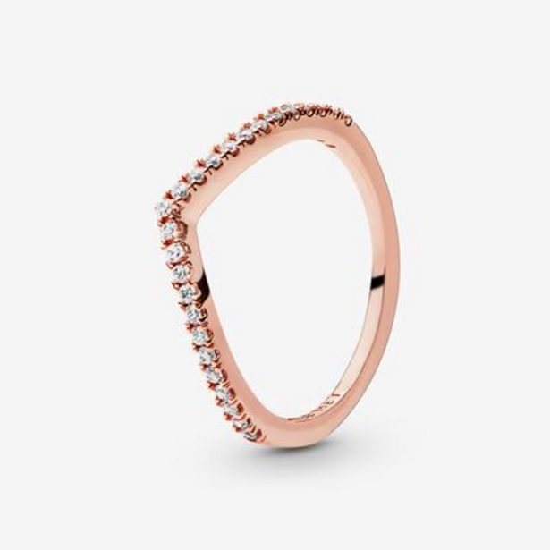 Sparkling Wishbone Ring offer at $55