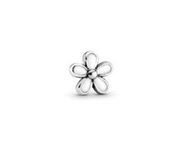 White Daisy Flower Locket Element - FINAL SALE deals at $15