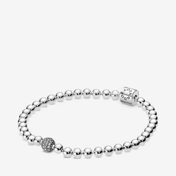 Beads & Pavé Bracelet offer at $75