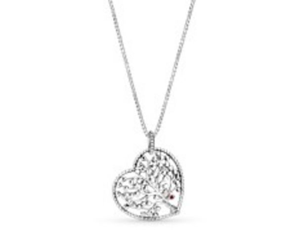 Family Tree Heart Pendant Necklace - FINAL SALE offer at $90