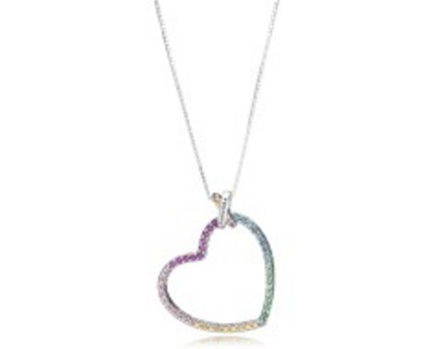 Multi-Colored Heart Necklace - FINAL SALE offer at $100