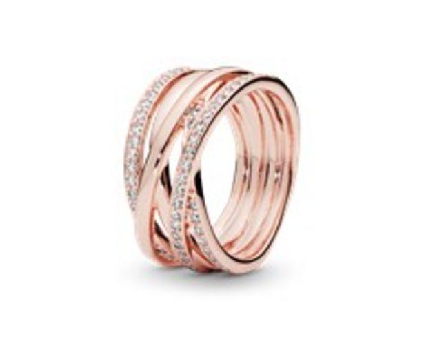 Sparkling & Polished Lines Ring deals at $175