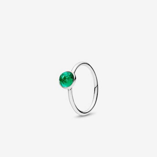 May Droplet Ring, Royal-Green Crystal - FINAL SALE offer at $34.99