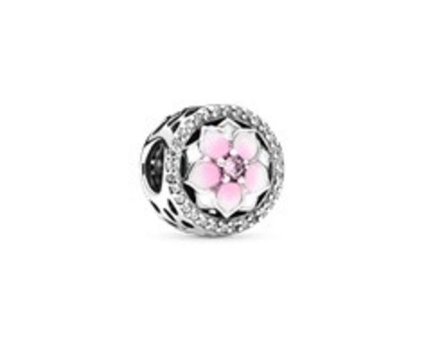Pink Magnolia Flower Charm - FINAL SALE deals at $65