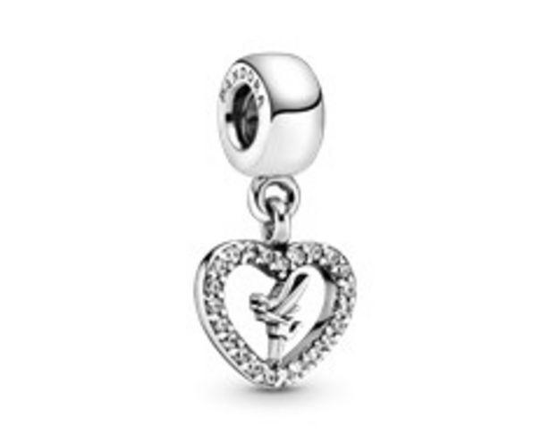 Disney Peter Pan Tinkerbell Heart Dangle Charm - FINAL SALE deals at $55