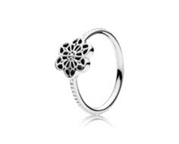 Floral Daisy Lace Ring - FINAL SALE deals at $40