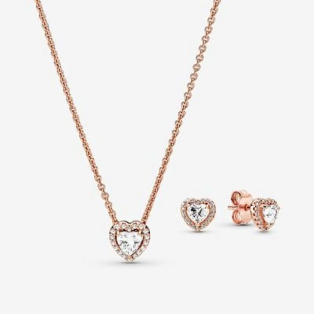 Sparkling Elevated Heart Jewelry Gift Set offer at $199