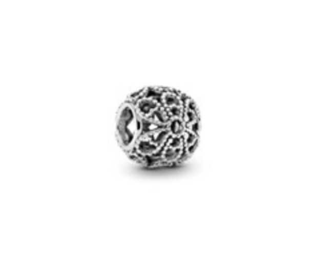 Beaded Openwork Flower Charm - FINAL SALE offer at $25