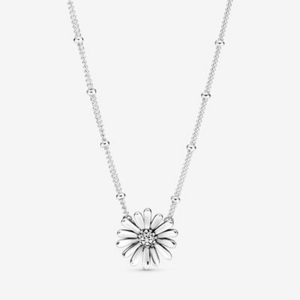 Pavé Daisy Flower Collier Necklace offer at $90