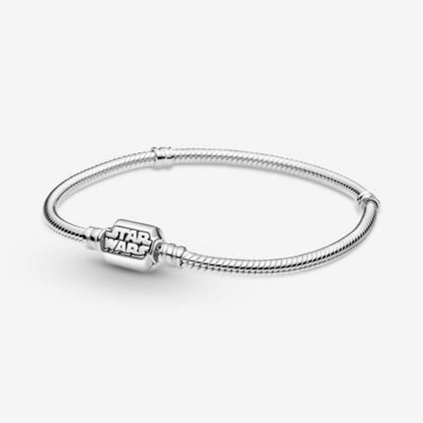 Pandora Moments Star Wars Snake Chain Clasp Bracelet offer at $90