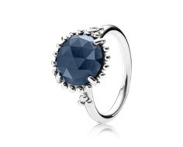 Midnight Star Stackable Ring, Blue Crystal - FINAL SALE offer at $75