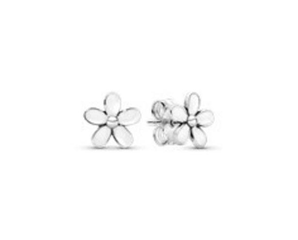White Daisy Flower Stud Earrings - FINAL SALE deals at $40