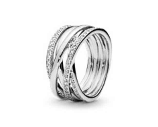Sparkling & Polished Lines Ring deals at $140