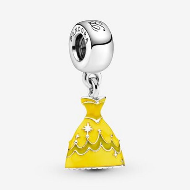 Disney Beauty and the Beast Belle's Dress Dangle Charm offer at $65