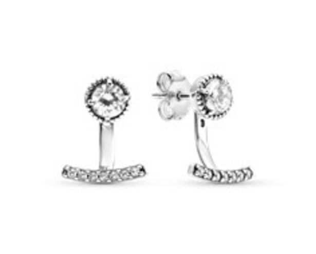 Sparkling Anchor Jacket Stud Earrings - FINAL SALE deals at $70