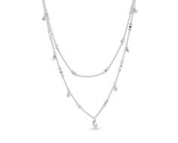 Layered Chandelier Droplet Necklace - FINAL SALE deals at $100