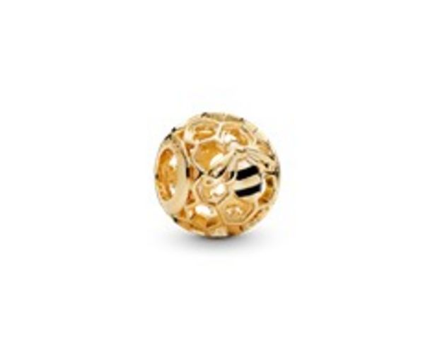 Bee Honeycomb Charm - FINAL SALE deals at $50