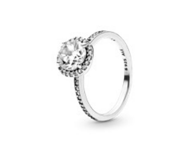 Round Sparkle Halo Ring offer at $90