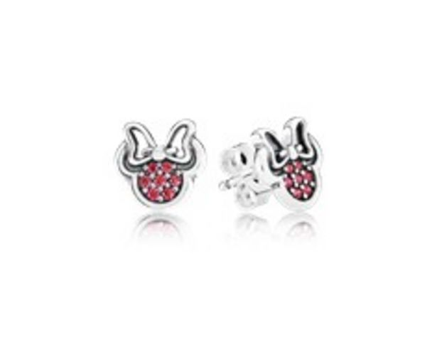 Disney, Sparkling Minnie Stud Earrings, Red CZ - FINAL SALE deals at $60