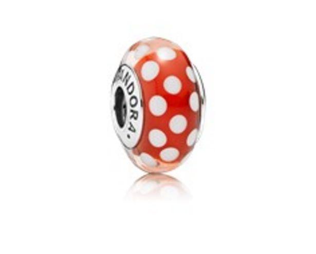 Disney, Minnie's Signature Look Charm, Murano Glass - FINAL SALE deals at $50