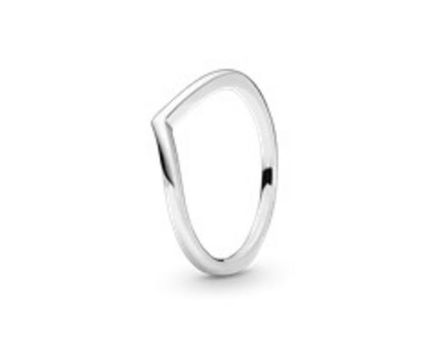 Polished Wishbone Ring deals at $35