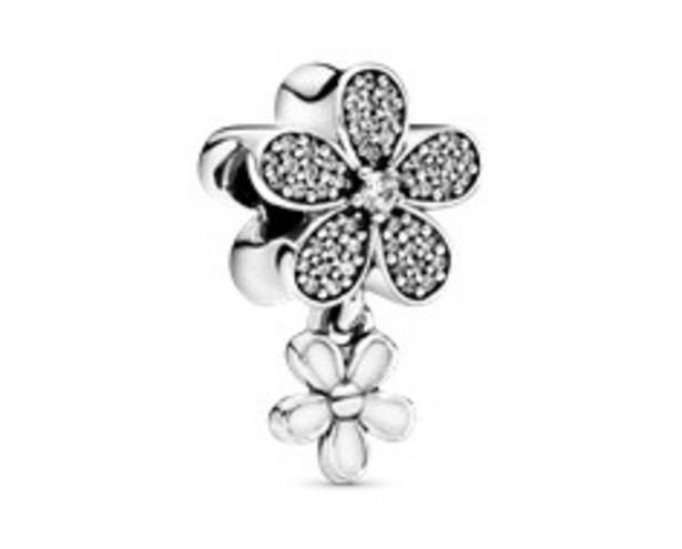 Dangling Daisy Flower Pavé Charm - FINAL SALE deals at $80