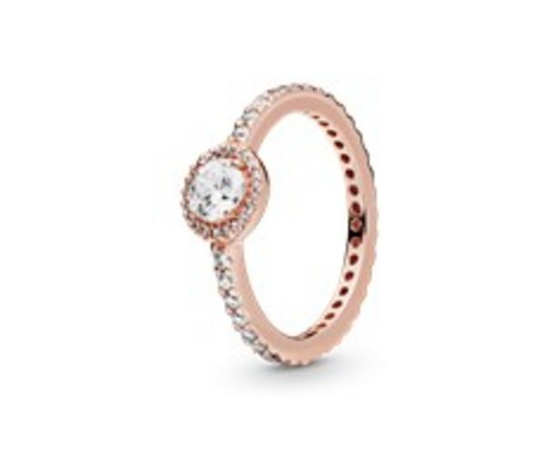 Classic Sparkle Halo Ring offer at $90