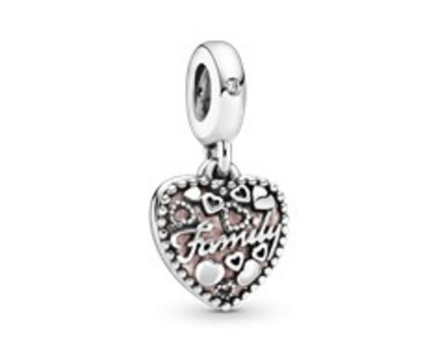 Love Makes A Family Heart Dangle Charm offer at $50