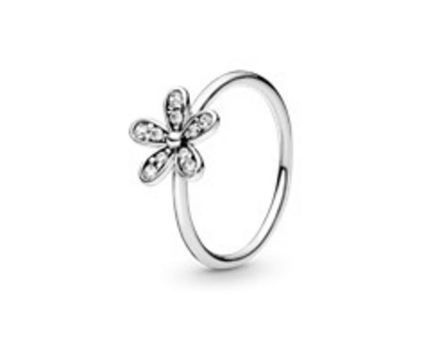 Sparkling Daisy Flower Ring - FINAL SALE deals at $55