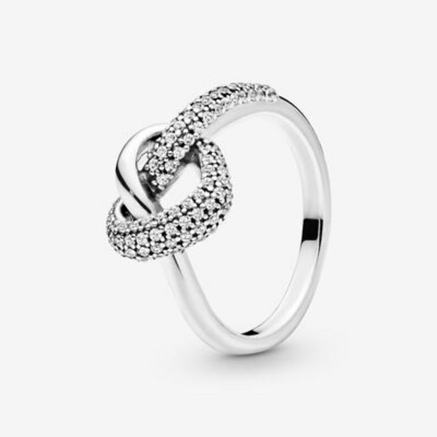 Knotted Heart Ring offer at $75