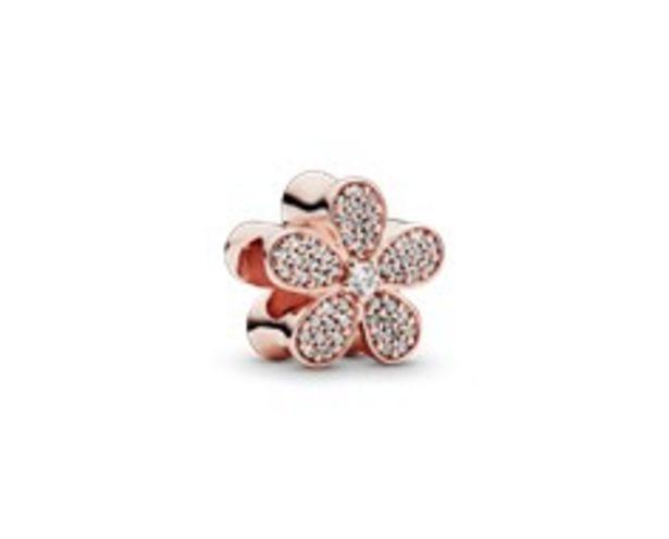Daisy Flower Pavé Charm - FINAL SALE deals at $100