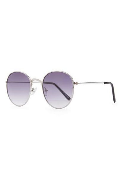 Purple Tone Round Frame Sunglasses offer at $3.5