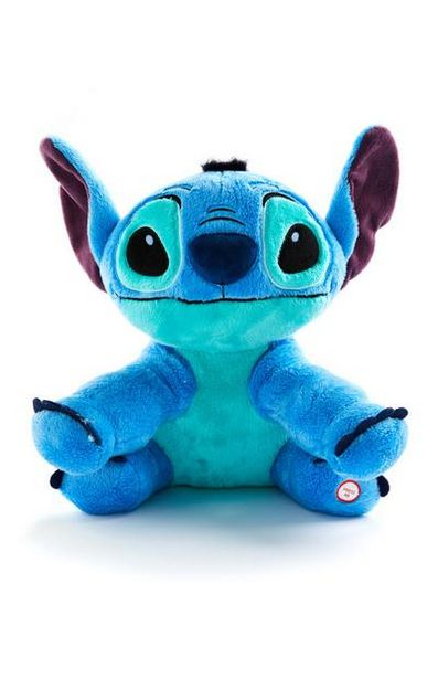 Blue Large Disney Lilo And Stitch Plush Toy deals at $14