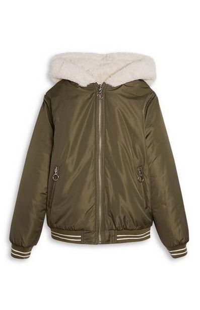 Older Girl Reversible Bomber Jacket offer at $28
