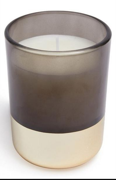Gold Base Smoky Votive Candle deals at $4.5